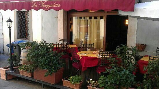 Ristorante La Maggiolata: Great food for reasonable price