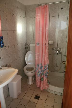 Sonia Village Hotel: The bathroom