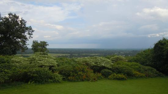 Sinclairs Retreat Dooars, Chalsa: View from the main Garden