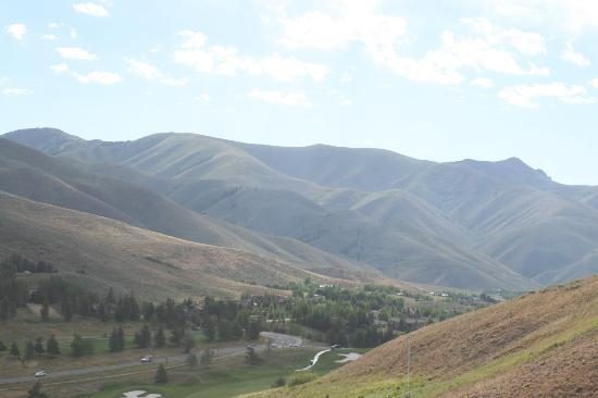Sun Valley Lodge: View from Horseback Riding