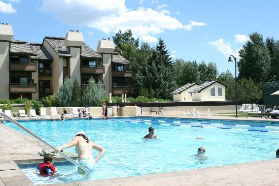 Sun Valley Lodge: Olympic Pool (one of two pools)