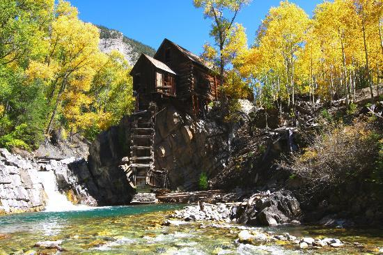 Marble, CO: Crystal Mill from Crystal River Jeep Tours