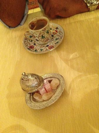 Topkapi: caffè turco