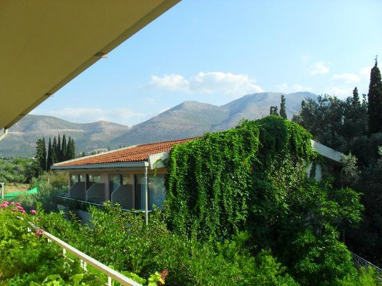 Miramare Hotel: view from the towards the mountains