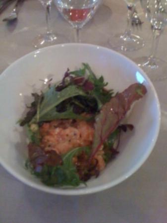 Opale: Salade de saumon