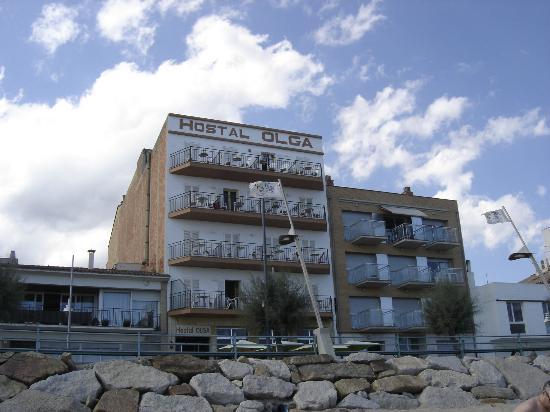 Sant Antoni de Calonge, Spain: L'tôtel vue de la plage