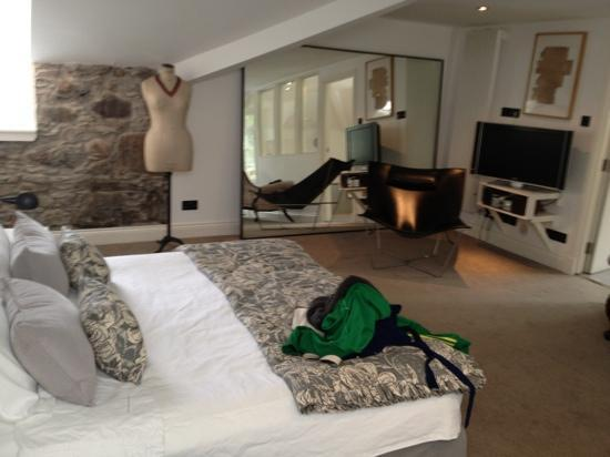 Monachyle Mhor: our bedroom