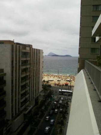 Hotel Ipanema Inn: Vista da cobertura