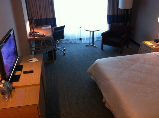 Room Layout Picture Of Four Points By Sheraton Sandakan