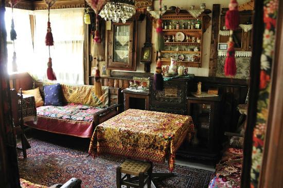 Homeros Pension & Guesthouse: salon 