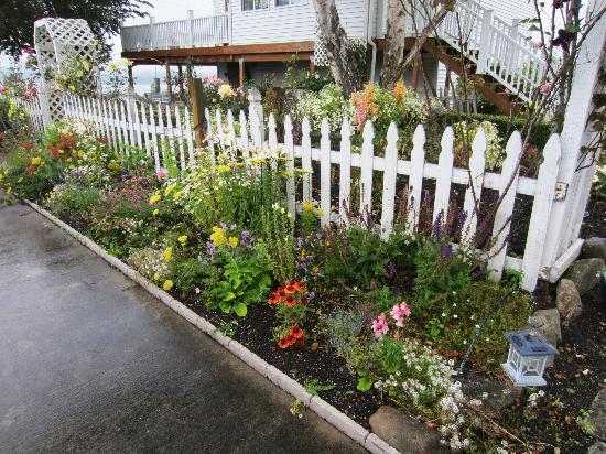Spinnaker Tea Garden B&B: Beautiful Gardens!