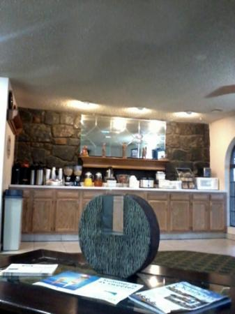 Super 8 Sapulpa/Tulsa Area: Breakfast bar