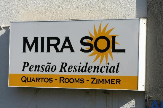 Pensao Residencial Mirasol: Sign
