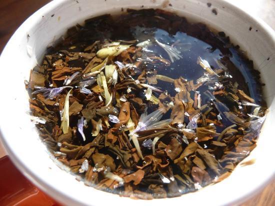 Hostel Erottajanpuisto: чай, который можно было заваривать всем гостям хостела :)