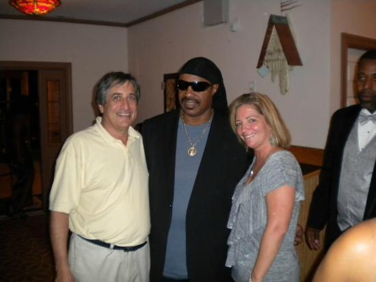 The Luna: owners with Stevie Wonder