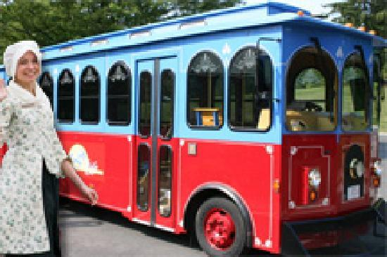 Liberty Ride Guide and Trolley Tour of LExington and Concord