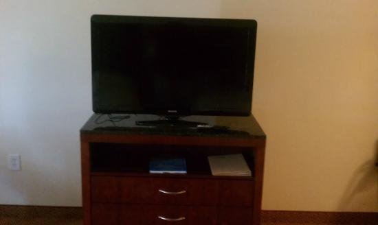 Hilton Garden Inn Myrtle Beach/Coastal Grand Mall: tv