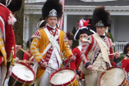 Lexington, MA: British Drummers