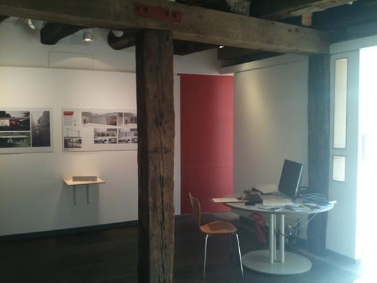 The Architecture Centre: exhibition area