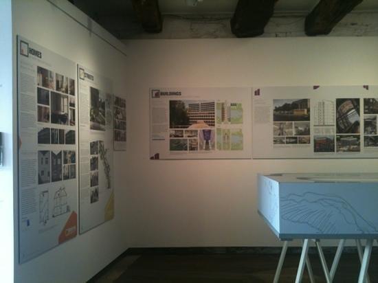 The Architecture Centre: retrofit exhibition