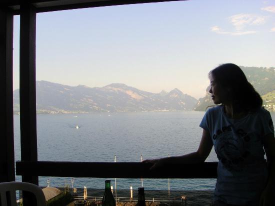 Kastanienbaum, Suiza: Balcony