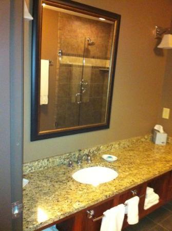 Timberlake Lodge Hotel: bath