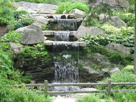 Coastal Maine Botanical Gardens: Waterfall