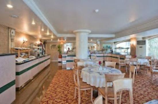 Hotel Bulvar Palas: yemek salonun harika-Açık büfe