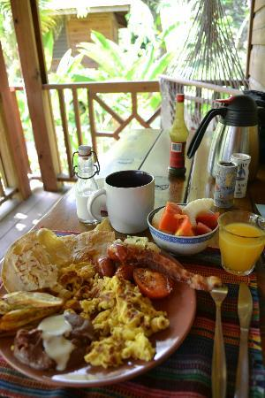 Villagio Verde: Delicious breakfast