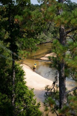 Milton, FL: Zipping  over Coldwater Creek