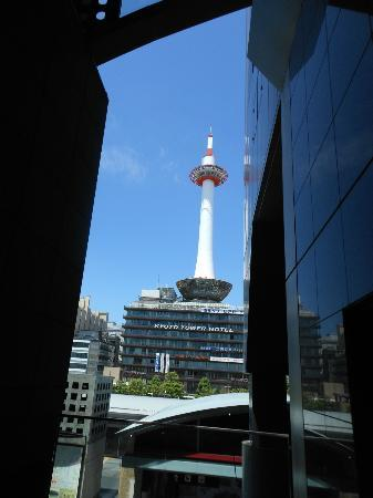 Hotel Granvia Kyoto : a view from the hallway outside our room
