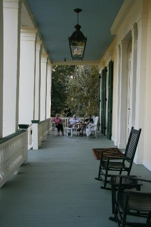 Bocage Plantation: Porch