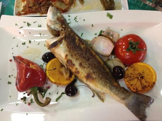Can Oba Restaurant : seabass