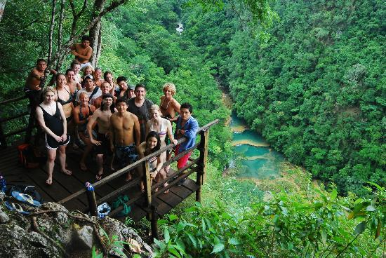 Zephyr River Lodge View Of Semuc Champey