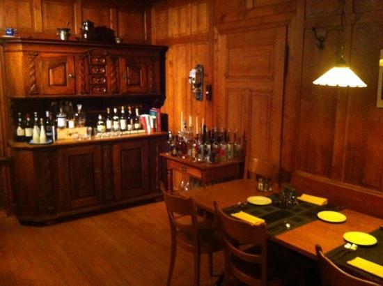 Landhaus: Die gemütliche Gaststube