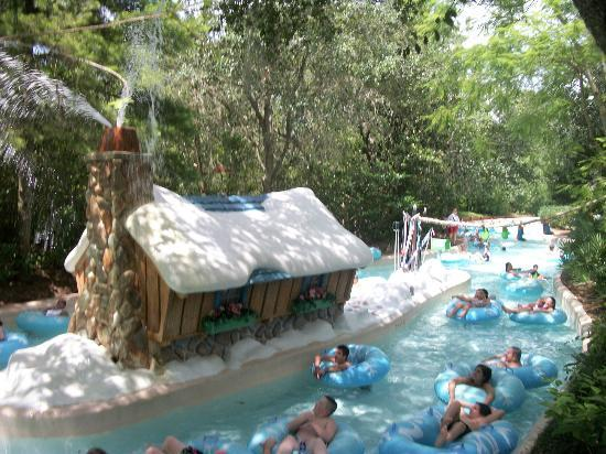 Disneys Blizzard Beach Water Park Lazy River