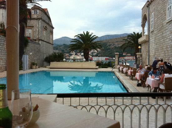 Pool Picture Of Hotel Lapad Dubrovnik Tripadvisor