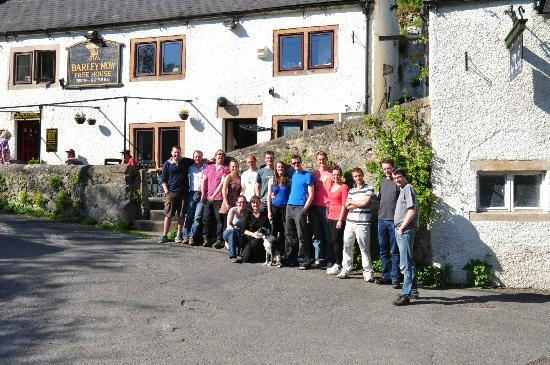 The Barley Mow: Barley Mow and our Hens and Stags