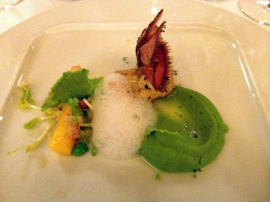 Restaurant Vau: One of the starter dishes
