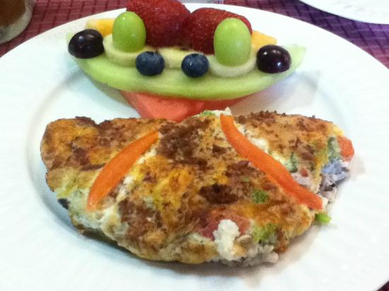 The Lake Champlain Inn - TLC Inn: Breakfast Frittata