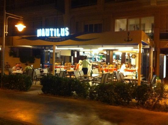 Sant Antoni de Calonge, Ισπανία: Restaurant Nautilus