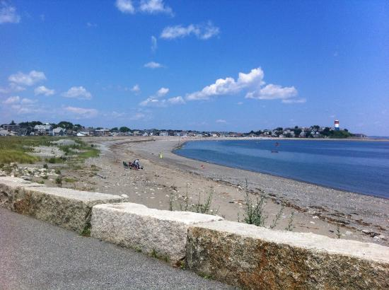 Deer Island HarborWalk: Beach
