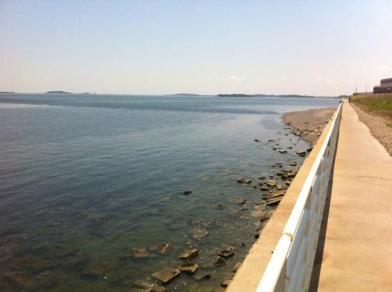 Deer Island HarborWalk: Running Path