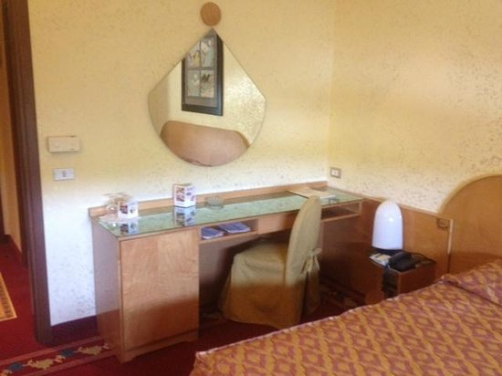 Hotel Castello:                   Ayrton Senna's actual hotel room.