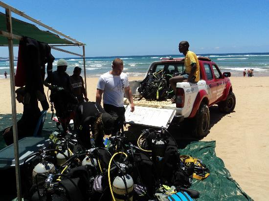 Sodwana Bay : Going diving
