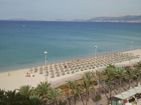 HM Gran Fiesta: la spiaggia davanti all'hotel