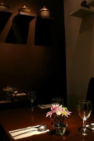 Chaam : table setting