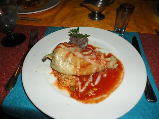 Viva Wyndham Azteca: Chili relleno at Don Diego