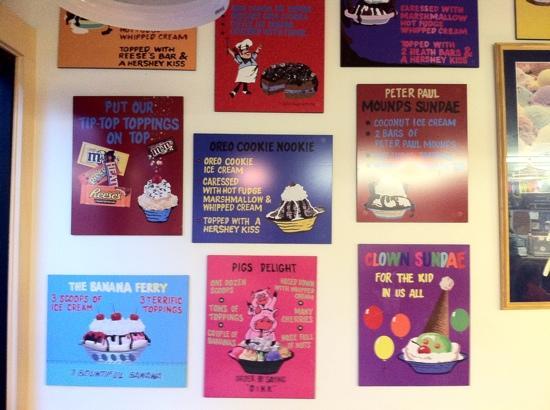 Mad Martha's : ice cream choices