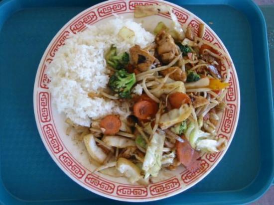 My Place Restaurant: Chop Suey with chicken